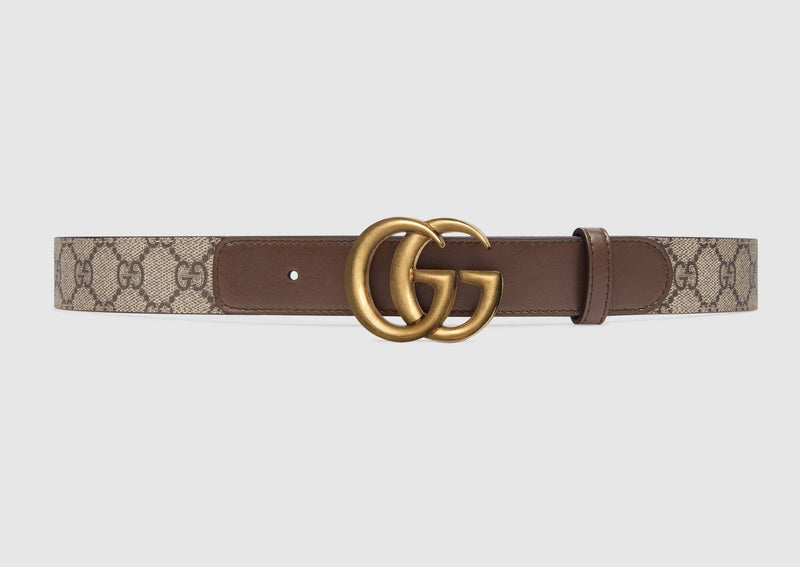 Double G Belt Brown