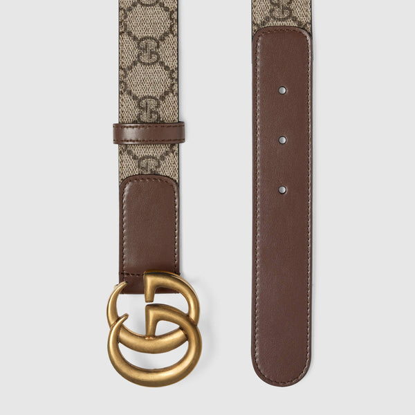 Gucci Double G Belt Brown