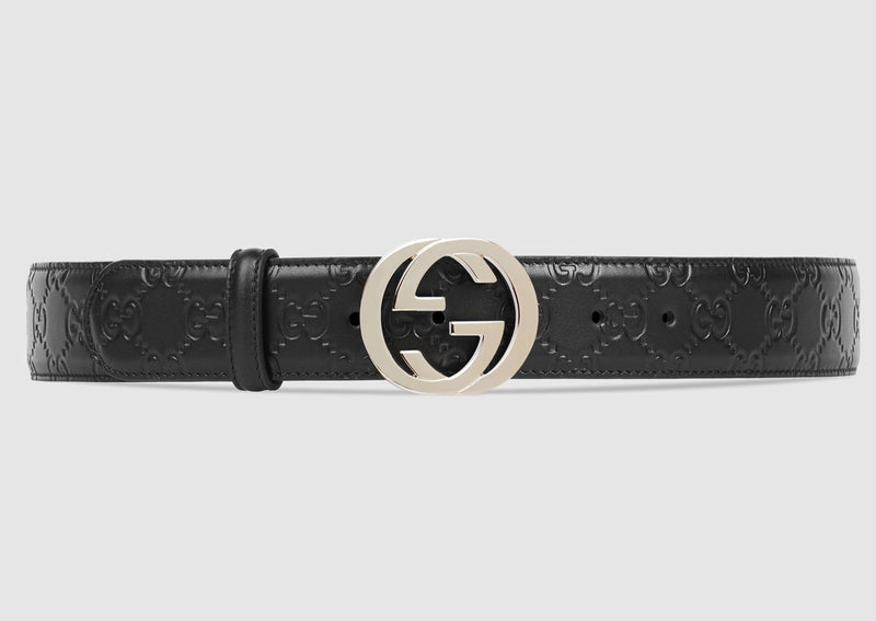 Design Leather and Silver Buckle