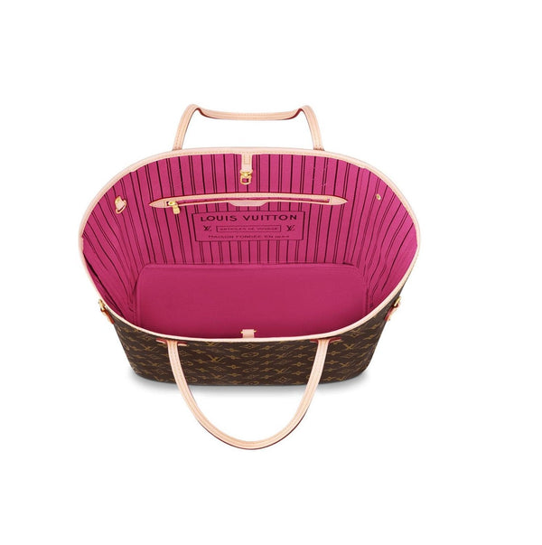 Neverfull MM Fuchsia