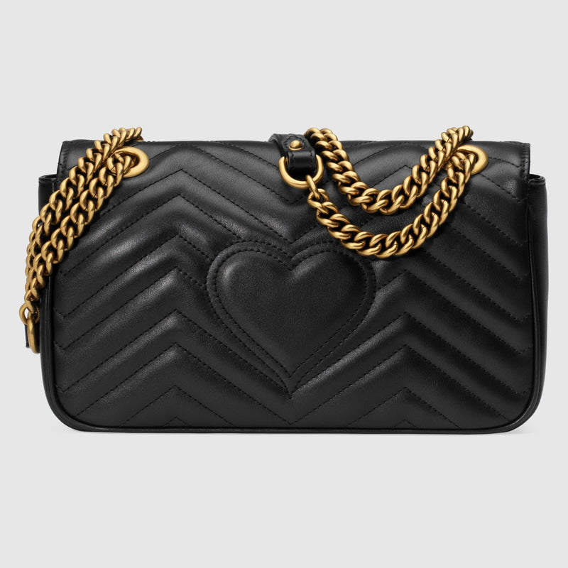 Marmont Small Matelassé Shoulder Bag