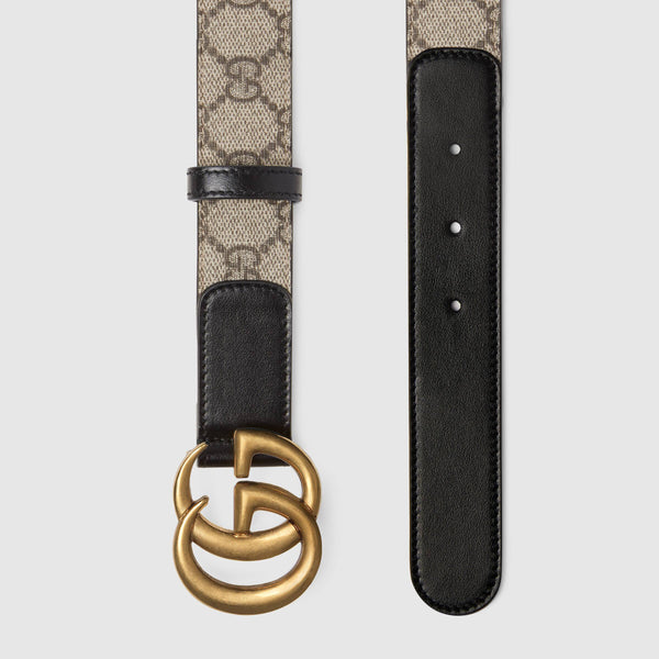 Amazing Double G Belt Black