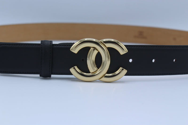 Chanel Belt Gold and Silver Buckle