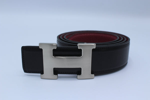 Amazing Reversible Buckle Leather Belt