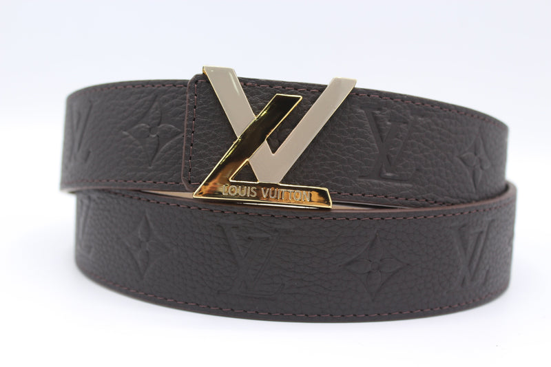 New Buckle Brown Leather