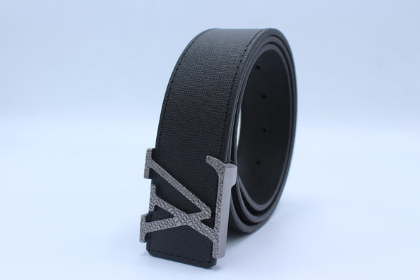 New Design Leather Belt Black
