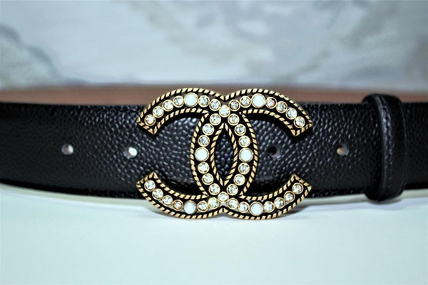 CC Amazing Colors Leather Belts Gold