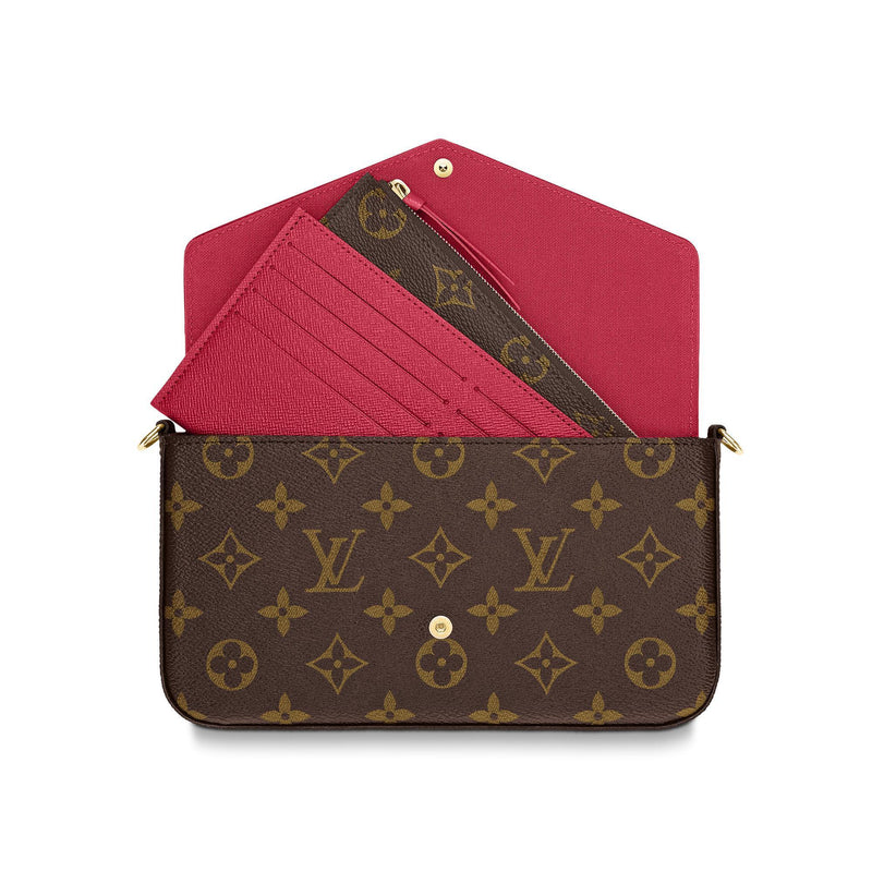 FÉLICIE POCHETTE BROWN MONOGRAM
