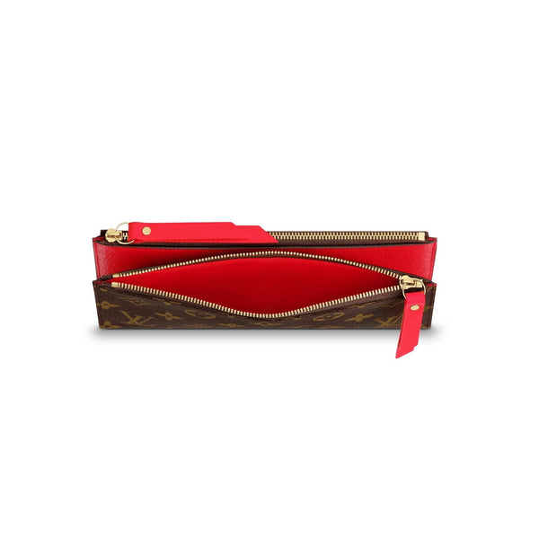 Double Zipper Wallet For Woman ADELE