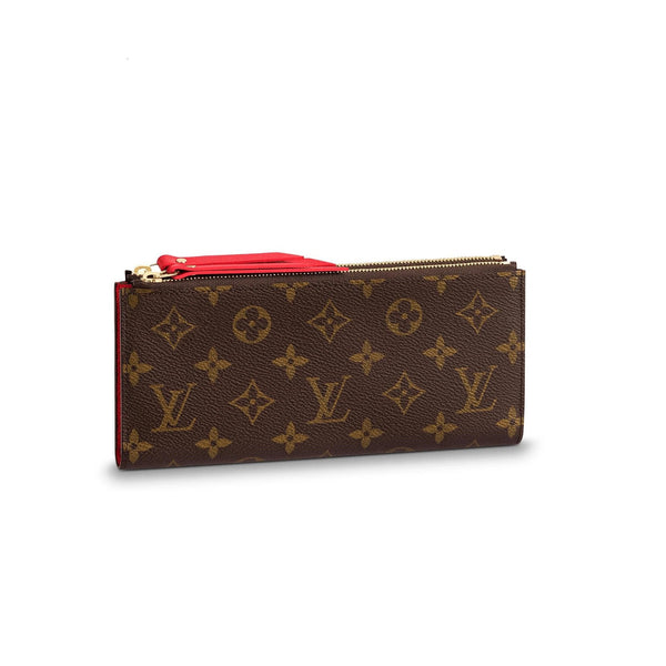 Double Zipper Wallet For Woman