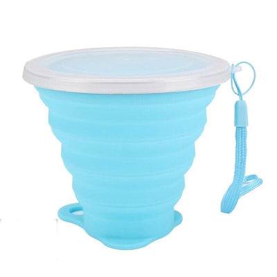 Gobelet en silicone rétractable 27cl - nature&survival ,  , ,