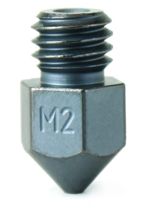 Micro Swiss: M2 High Speed Steel Plated Nozzles