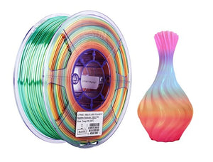 Silk PLA 1.75mm Rainbow