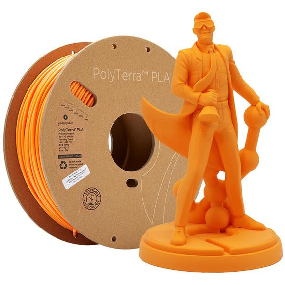 PolyTerra PLA 1.75mm Sunrise Orange