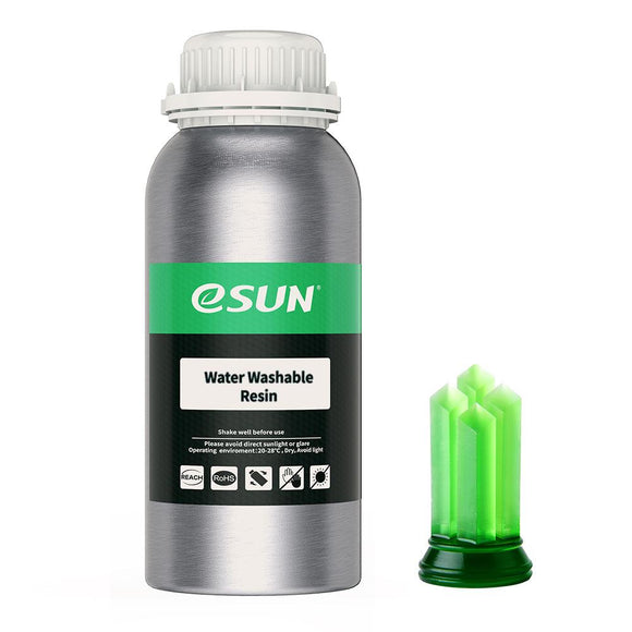 Esun Water Washable Resin 500g Transparent Green