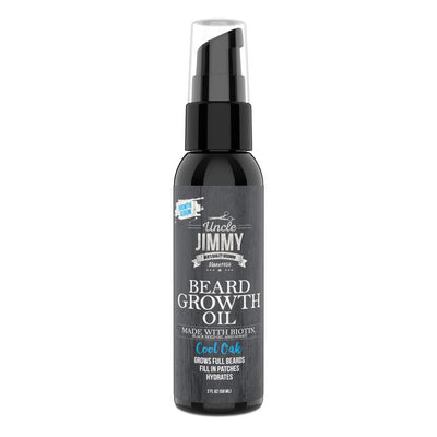 Uncle Jimmy BEARD GROWTH OIL 2OZ