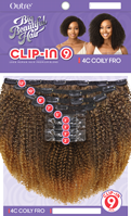 Outre Clip On 9 pc 4C COILY FRO 10″