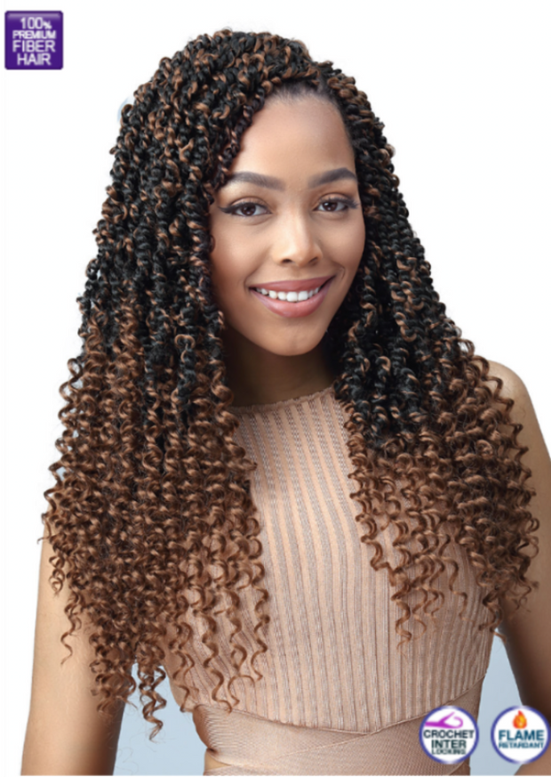 Bobbi Boss 2x Knotless Passion Twist 18""