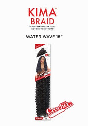 Kima WATER WAVE 18″ Crochet Hair