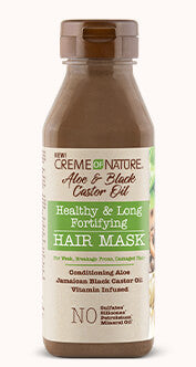 Creme of Nature Aloe & Black Castor Oil Healthy & Long Fortifying Hair Mask