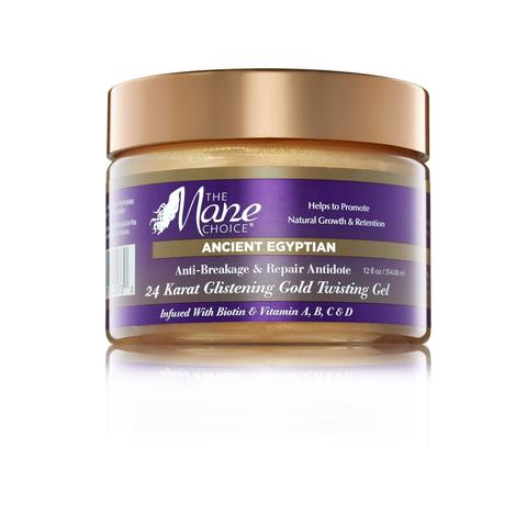 The Mane Choice Ancient Egyptian Anti-Breakage & Repair Antidote 24 Karat Glistening Gold Twisting Gel 12 oz
