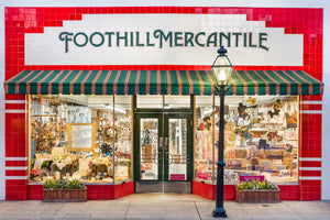 Store Front of Foothill Mercantile