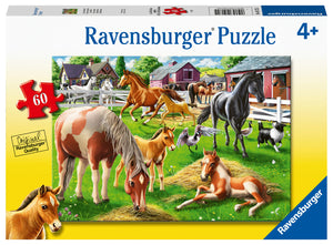 Happy Horses 60 Piece Puzzle