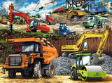 Construction Vehicles 100 Piece Puzzle