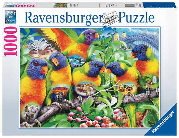Land of the Lorikeet - 1000 Piece Puzzle