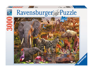 African Animal World - 3000 Piece Puzzle