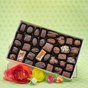 2 Pound Chocolate Box Best Seller Assortment