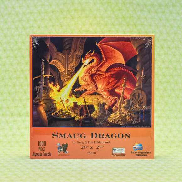 Smaug Dragon 1000 Piece Puzzle