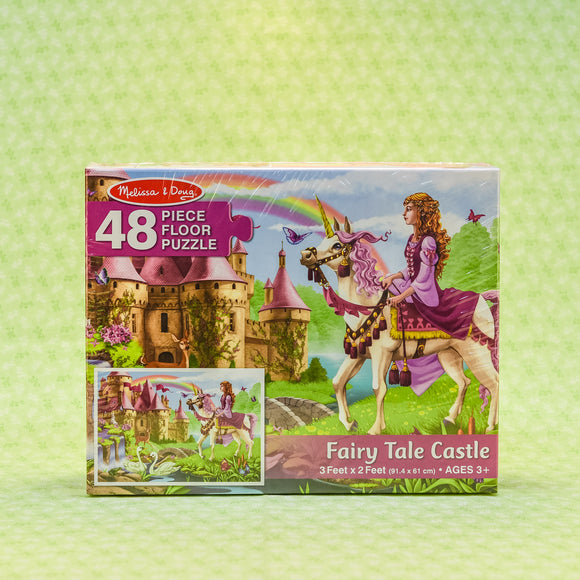 Fairy Tale Castle 48 Piece Floor Puzzle