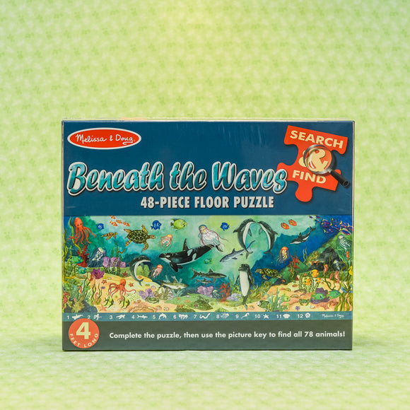 Beneath The Waves 48 Piece Floor Puzzle