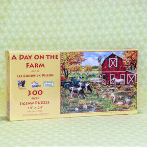A Day on the Farm 300 Piece Puzzle