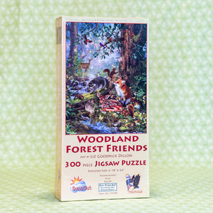 Woodland Forest Friends 300 Piece Puzzle
