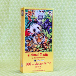 Animal Magic 100 Piece Puzzle