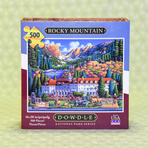 Rocky Mountain 500 Piece Puzzle