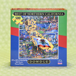 Best of Northern California 500 Piece Puzzle