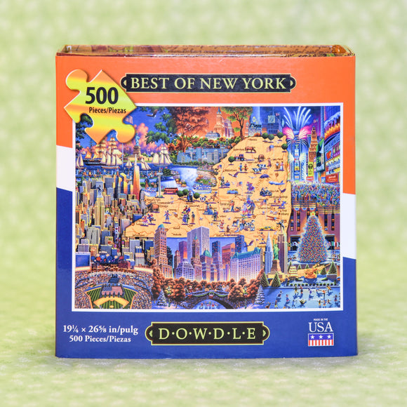 Best of New York 500 Piece Puzzle
