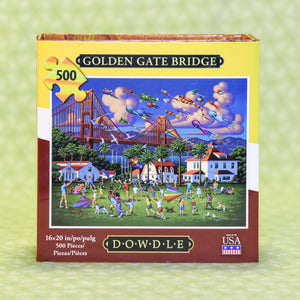 Golden Gate Bridge 500 Piece Puzzle