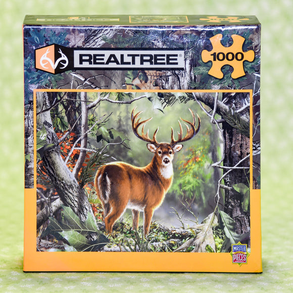 Backcountry Buck 1000 Piece Puzzle