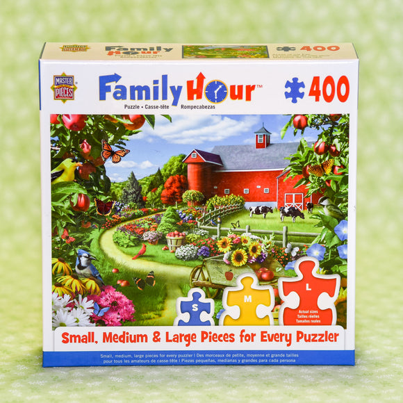 Apple of My Eye Family Hour 400 Piece Puzzle