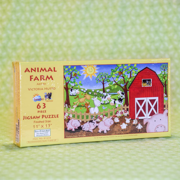Animal Farm 63 Piece Puzzle
