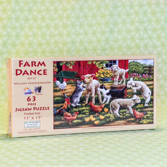 Farm Dance 63 Piece Puzzle