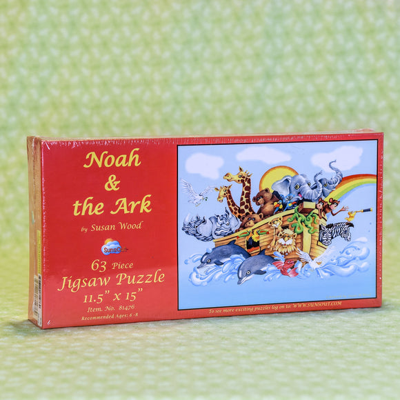 Noah & the Ark 63 Piece Puzzle