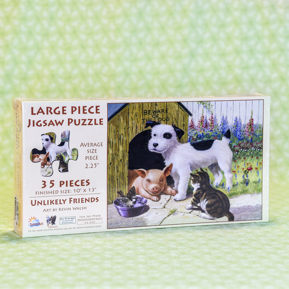 Unlikely Friends 35 Piece Puzzle