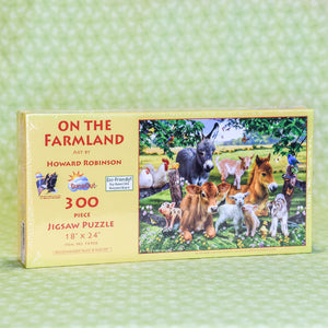 On the Farmland 300 Piece Puzzle