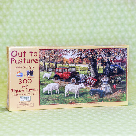 Out to Pasture 300 Piece Puzzle