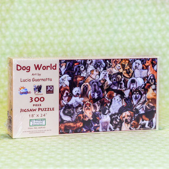 Dog World 300 Piece Puzzle
